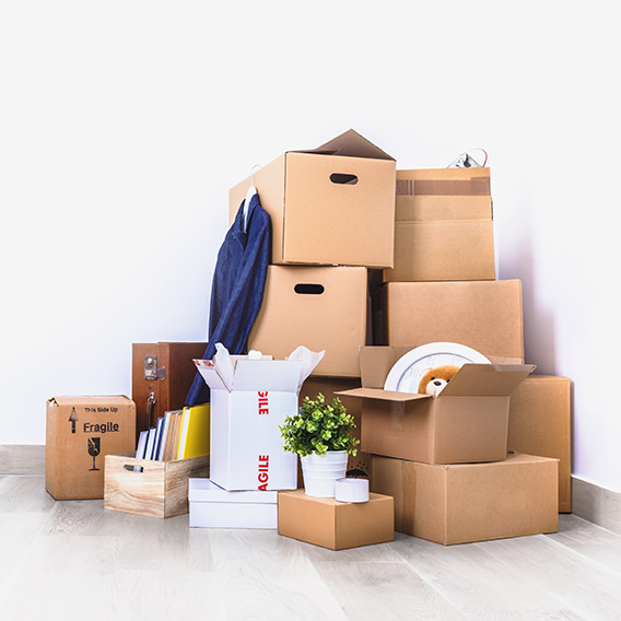 cartons de déménagement à Chambéry